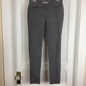 Boden WC114 Gray Skinny Jeans Size 8R